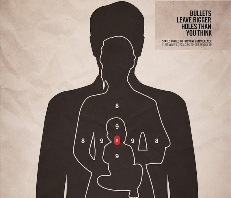 Bullets make bigger holes than you think.