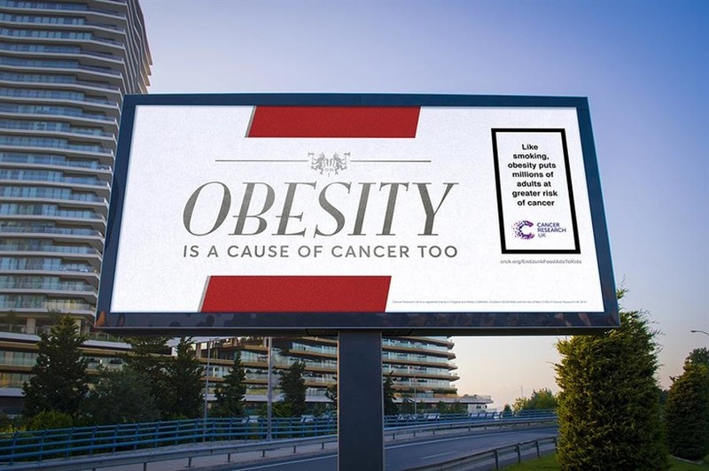 Like smoking, obesity increases the risk of cancer in millions of adults.